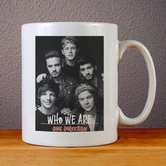 One Direction Who We Are Ceramic Coffee Mugs
