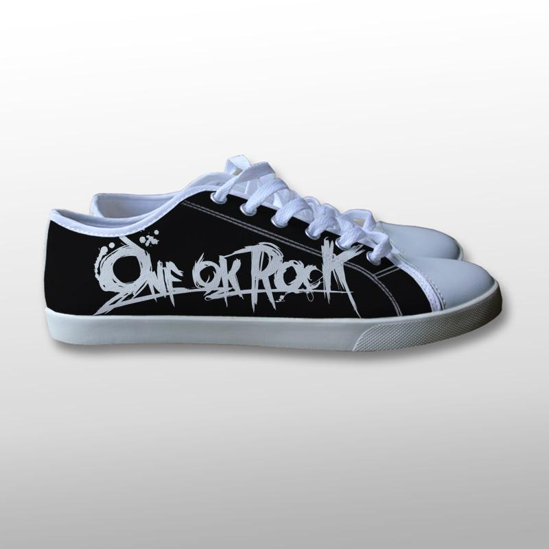 One Ok Rock Logo Canvas Shoes