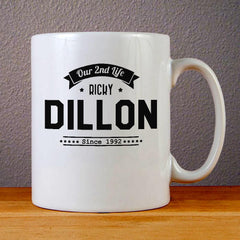 Our 2nd Life Ricky Dillon Ceramic Coffee Mugs