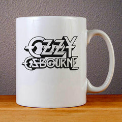 Ozzy Osbourne Logo Ceramic Coffee Mugs