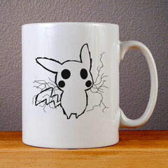 Pikachu Electric Shock Ceramic Coffee Mugs