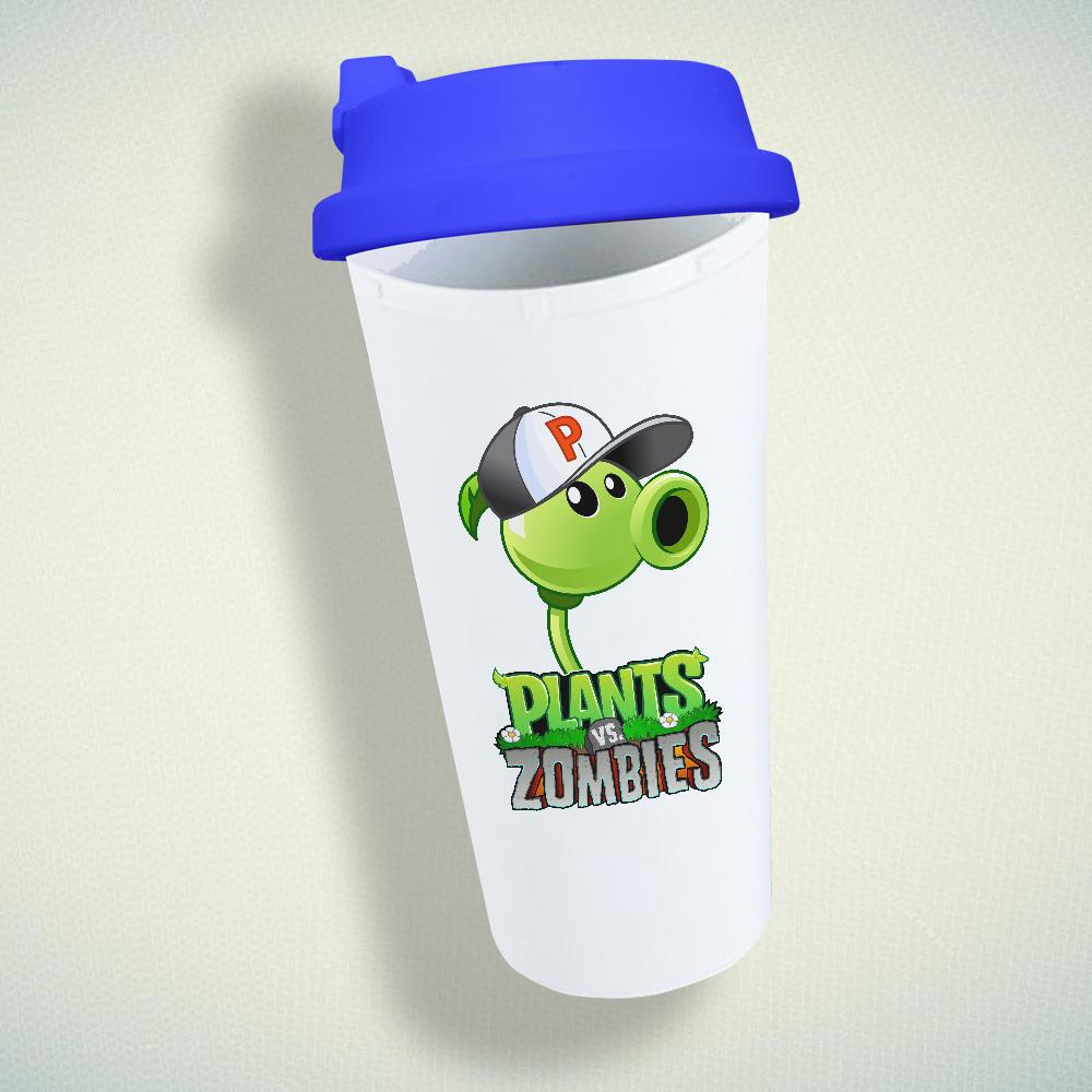 Plants vs Zombies Double Wall Plastic Mug