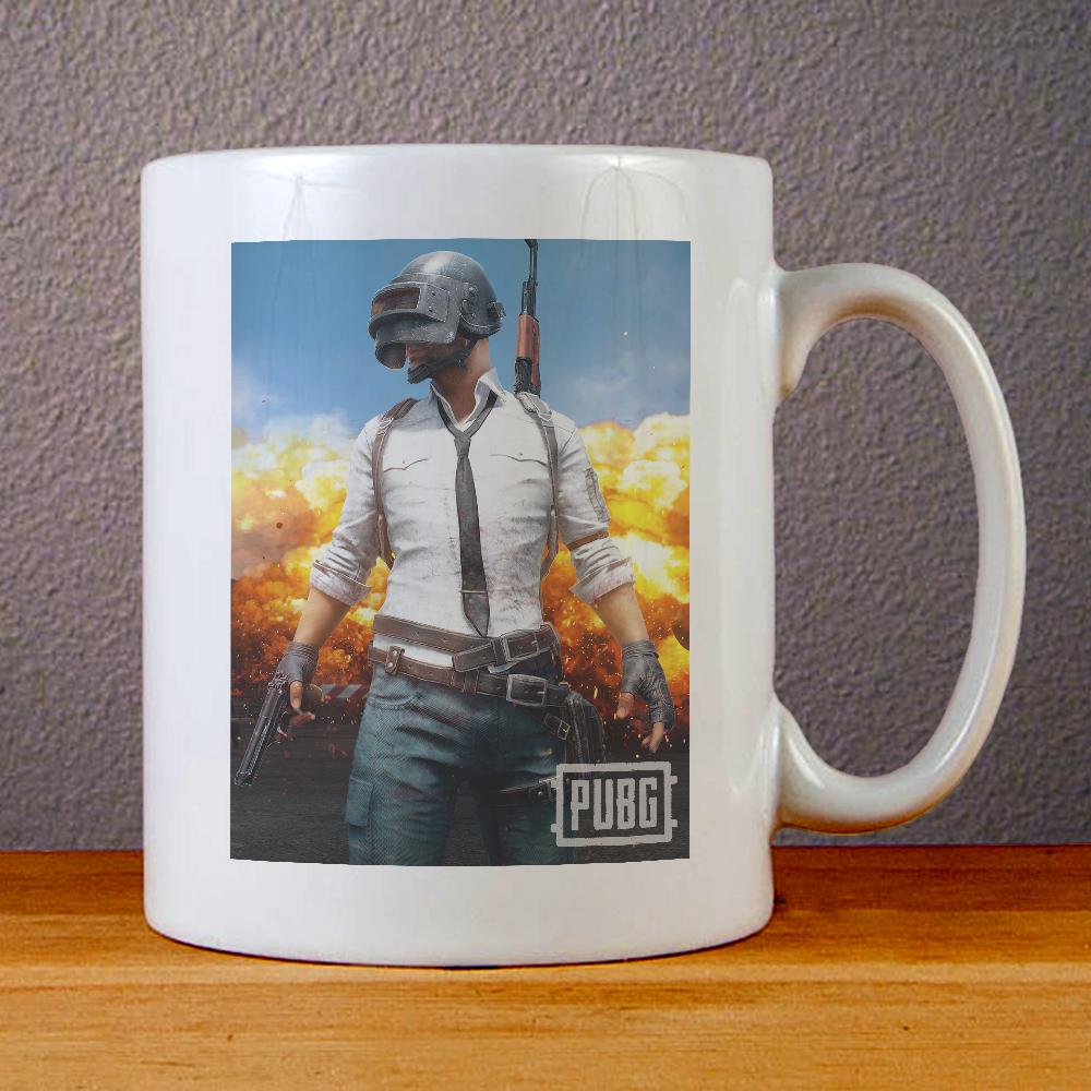 PlayerUnknowns Battlegrounds PUBG Game Ceramic Coffee Mugs