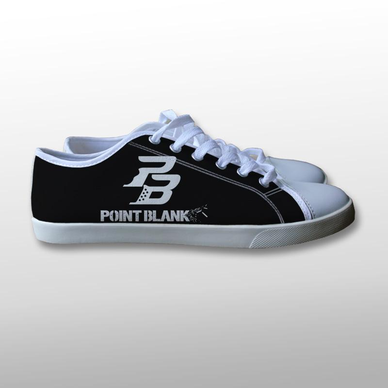 Point Blank Logo Canvas Shoes