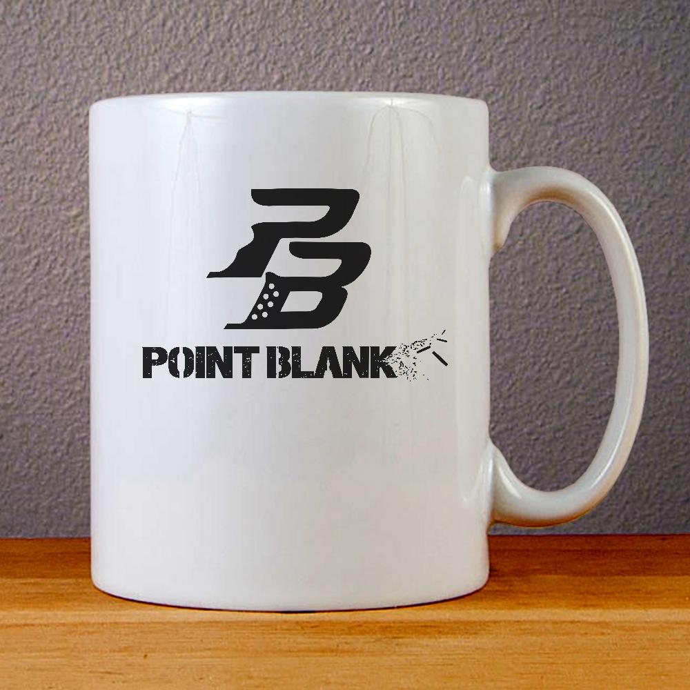Point Blank Logo Ceramic Coffee Mugs