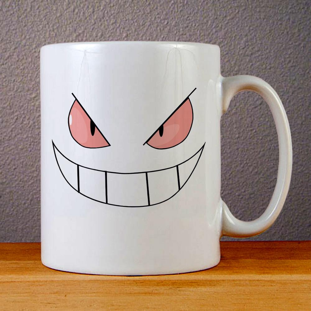 Pokemon Gengar Ceramic Coffee Mugs