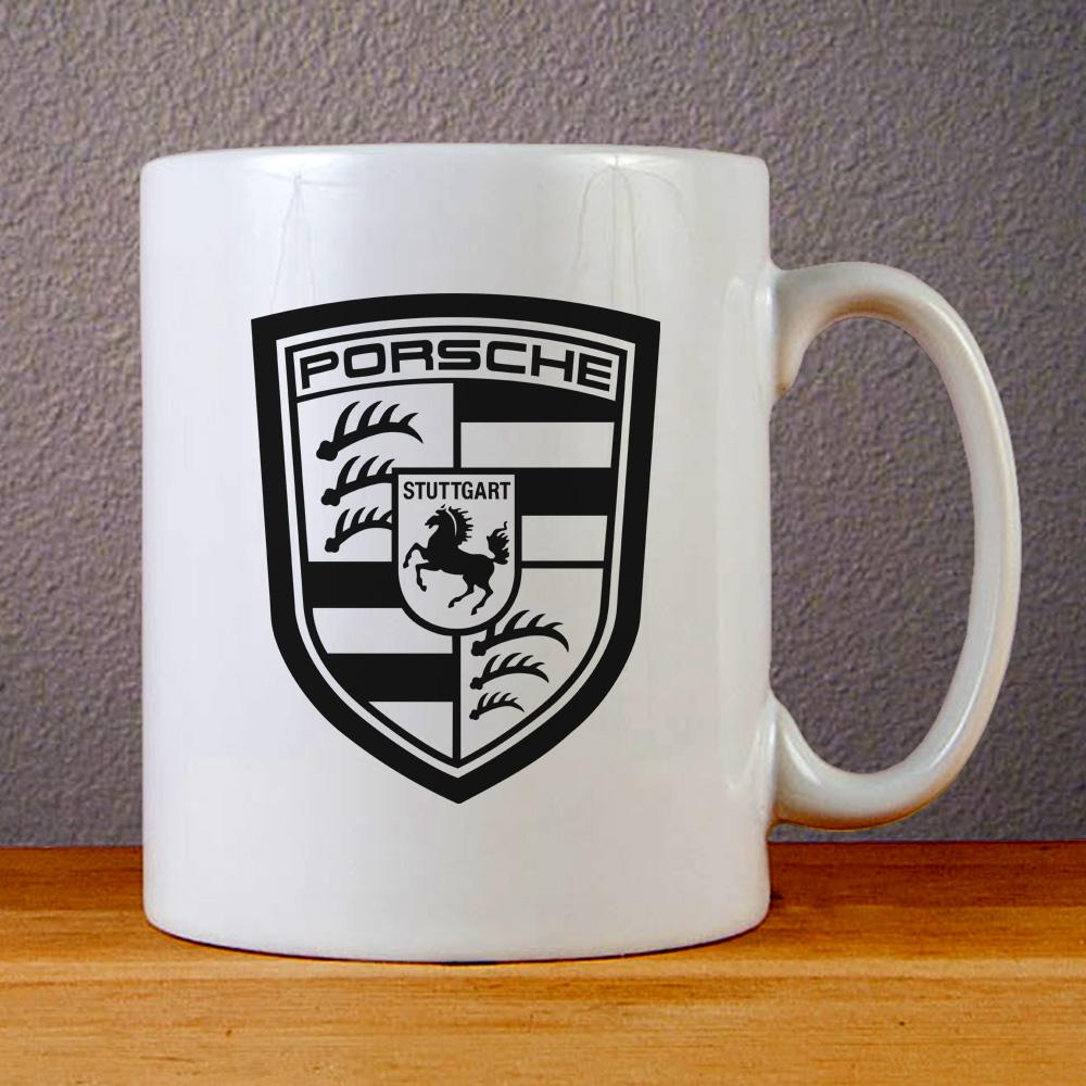 Porsche Logo Ceramic Coffee Mugs