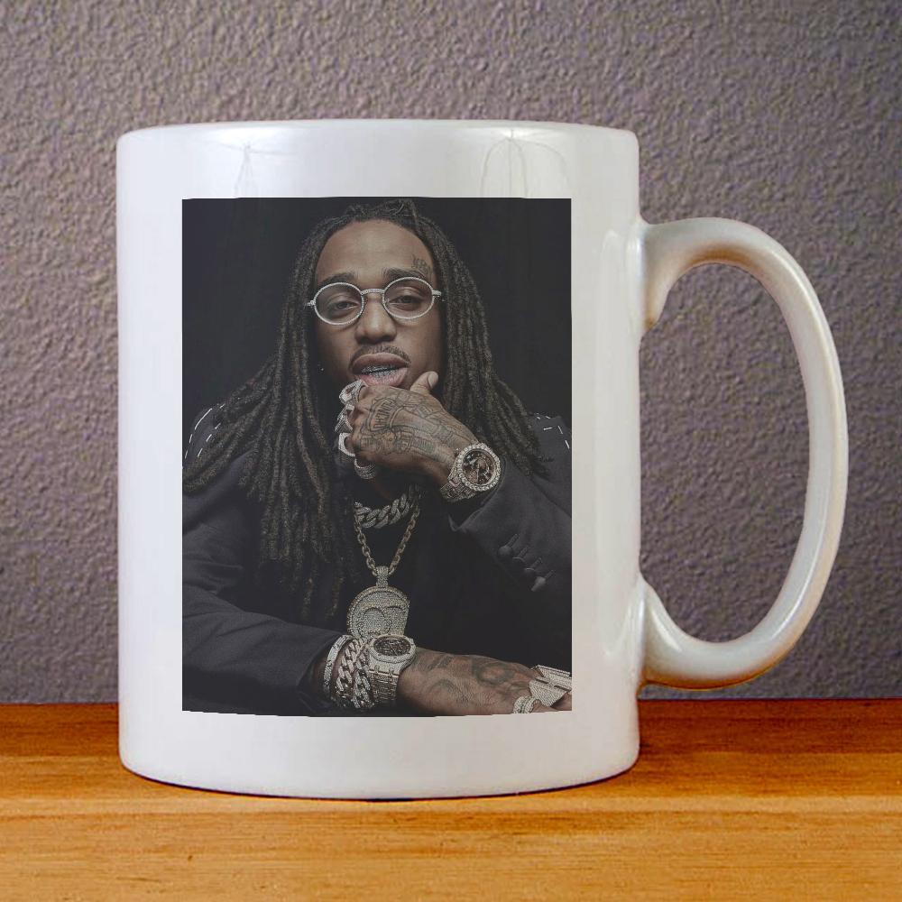 Quavo Face Ceramic Coffee Mugs
