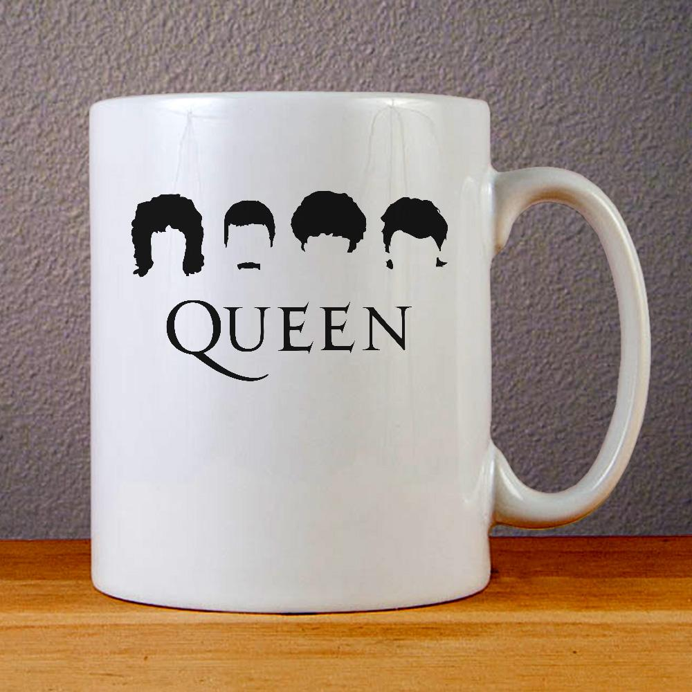 Queen Band Icon Ceramic Coffee Mugs