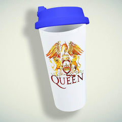 Queen Logo Double Wall Plastic Mug