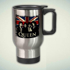 Queen 14oz Stainless Steel Travel Mug