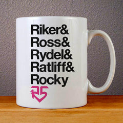 R5 Band Ceramic Coffee Mugs