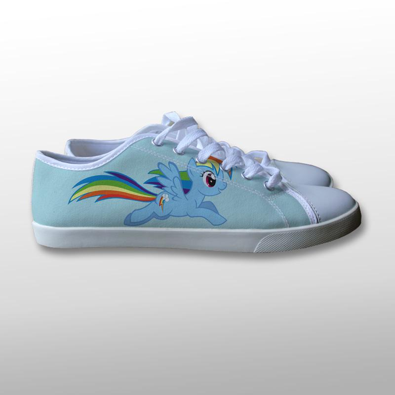 Rainbow Dash My Little Pony Canvas Shoes
