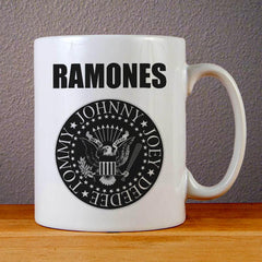 Ramones Logo Ceramic Coffee Mugs
