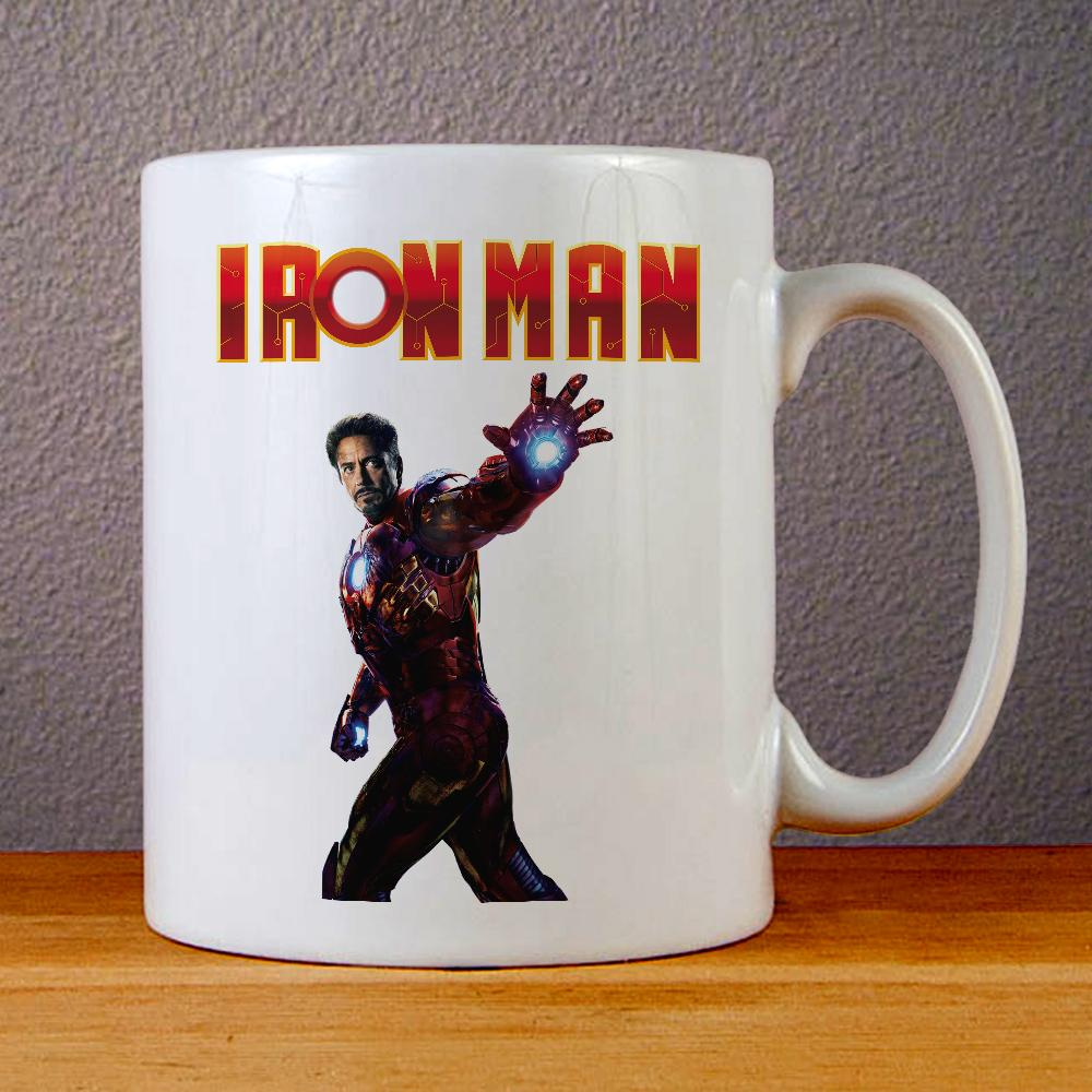 Robert Downey Jr Ceramic Coffee Mugs