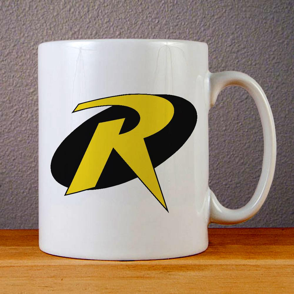 Robin Logo Ceramic Coffee Mugs