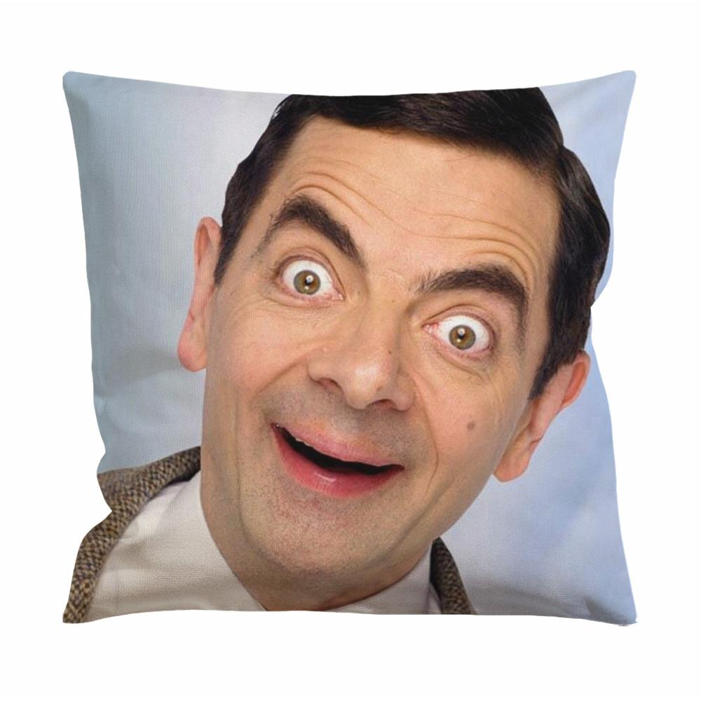 Rowan Atkinson,Mr Bean Cushion Case / Pillow Case