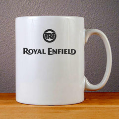 Royal Enfield Logo Ceramic Coffee Mugs