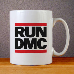 Run DMC Logo Ceramic Coffee Mugs