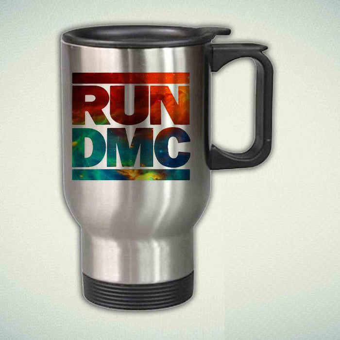 Run Dmc Hip Hop Rapper 14oz Stainless Steel Travel Mug