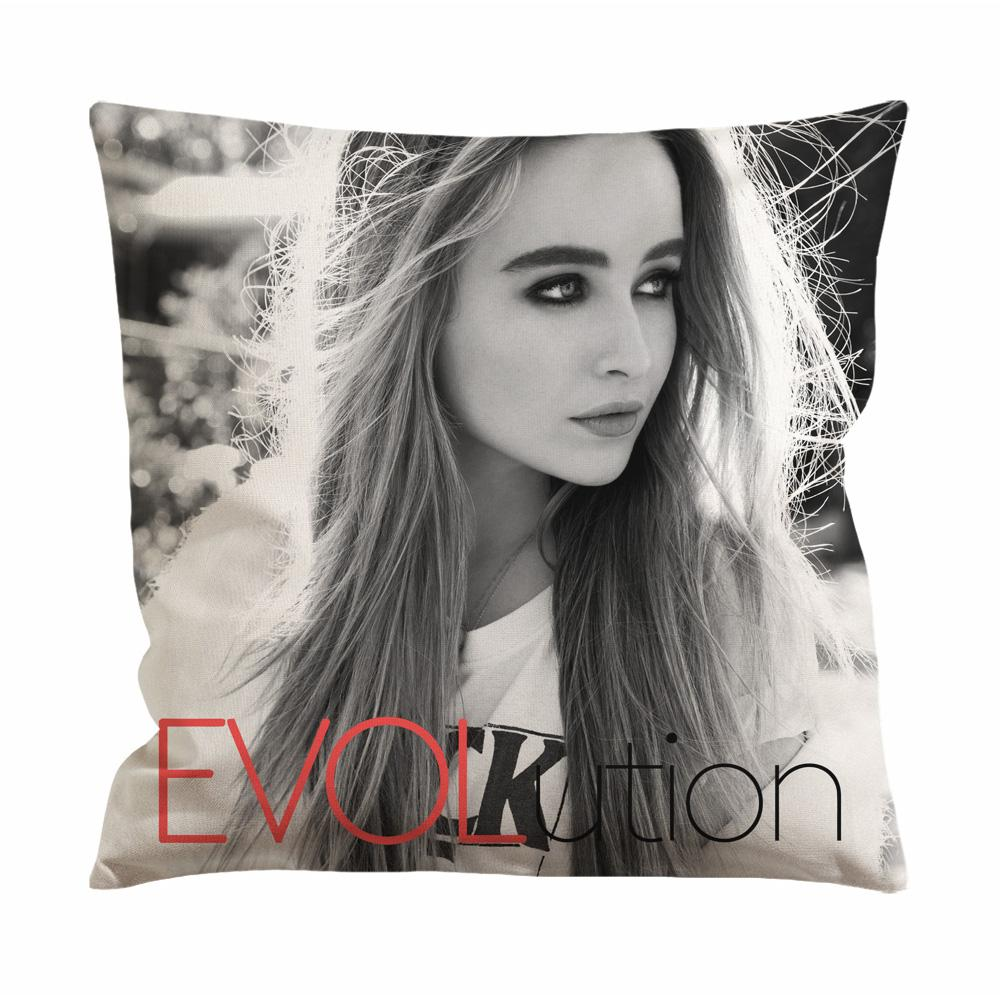 Sabrina Carpenter Evolution Cushion Case / Pillow Case