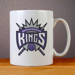 Sacramento Kings Logo Ceramic Coffee Mugs