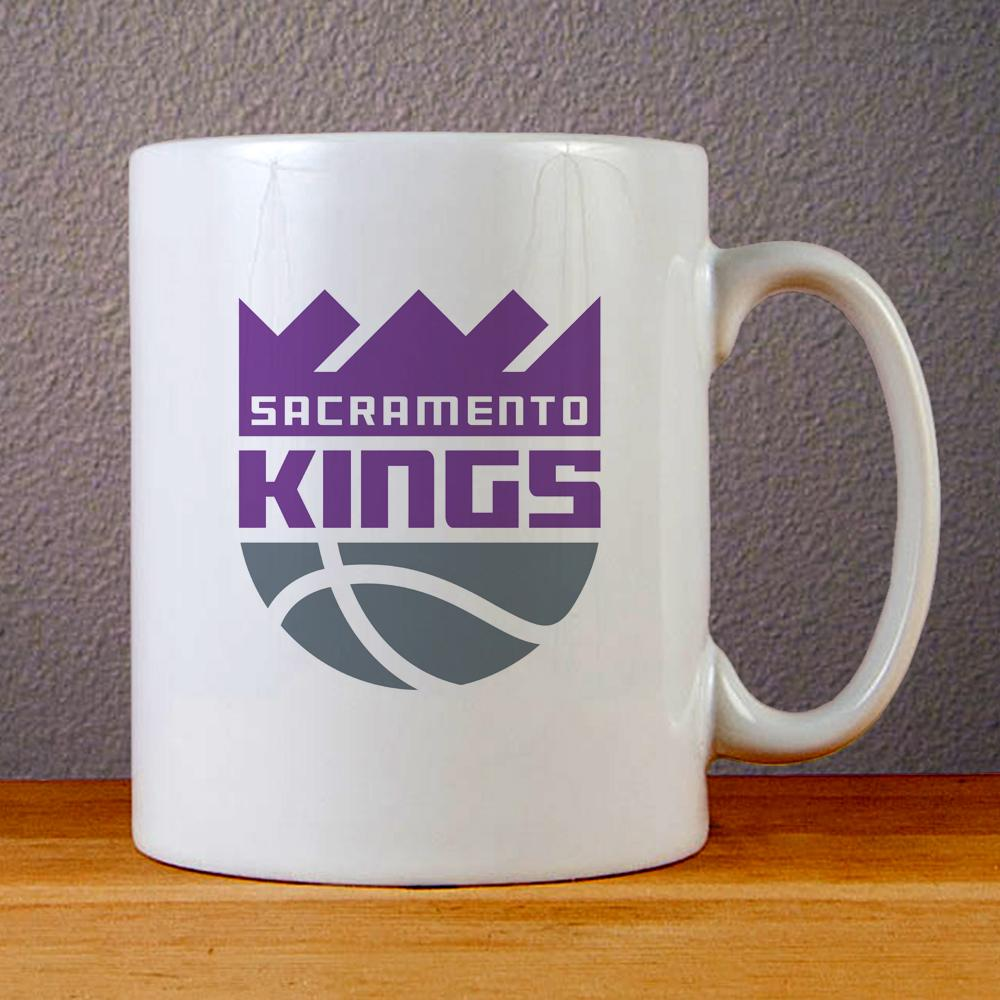 Sacramento Kings New Logo Ceramic Coffee Mugs