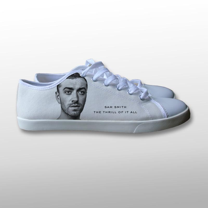 Sam Smith The Thrill of It All Canvas Shoes
