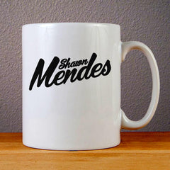 Shawn Mendes Ceramic Coffee Mugs