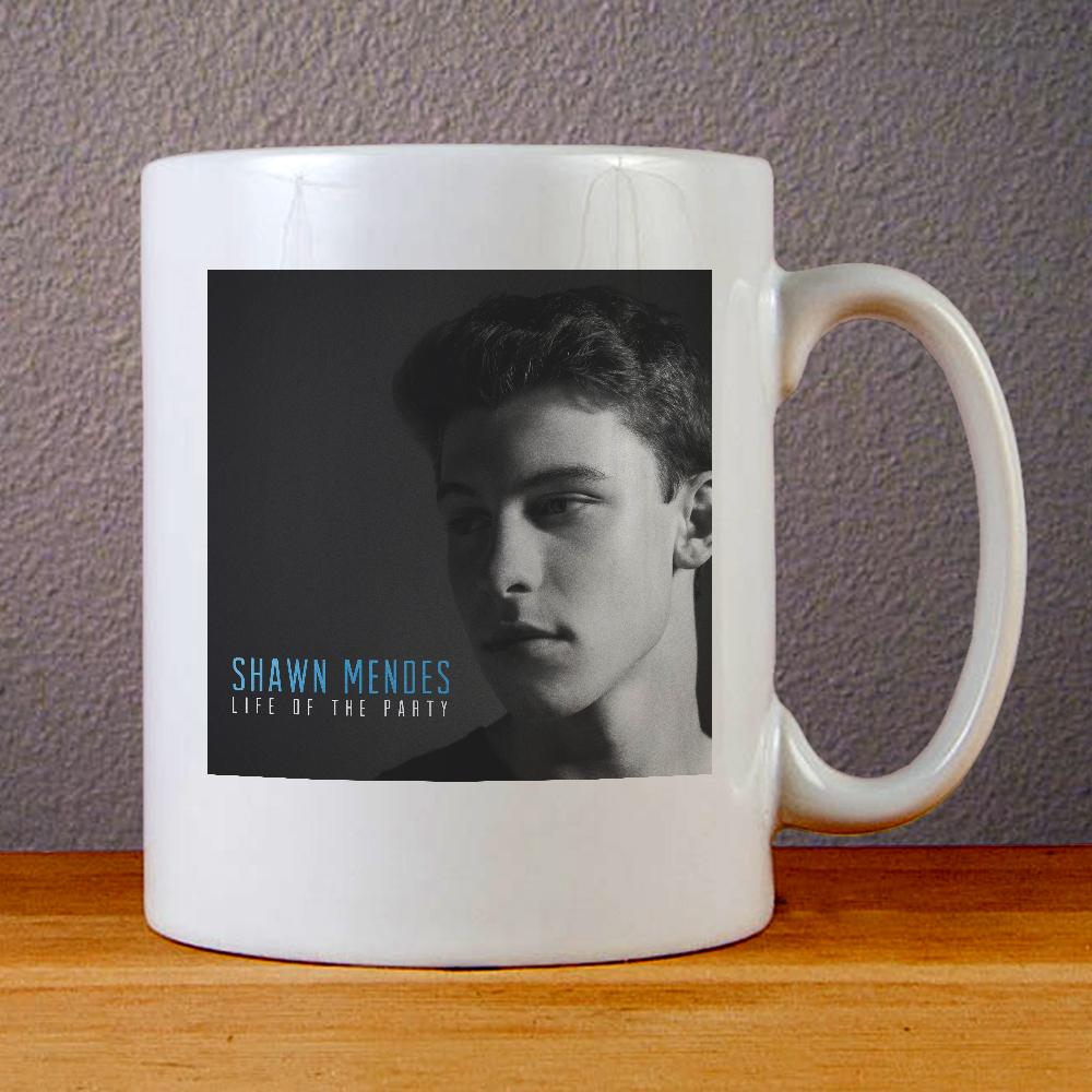 Shawn Mendes Live of The Party Ceramic Coffee Mugs