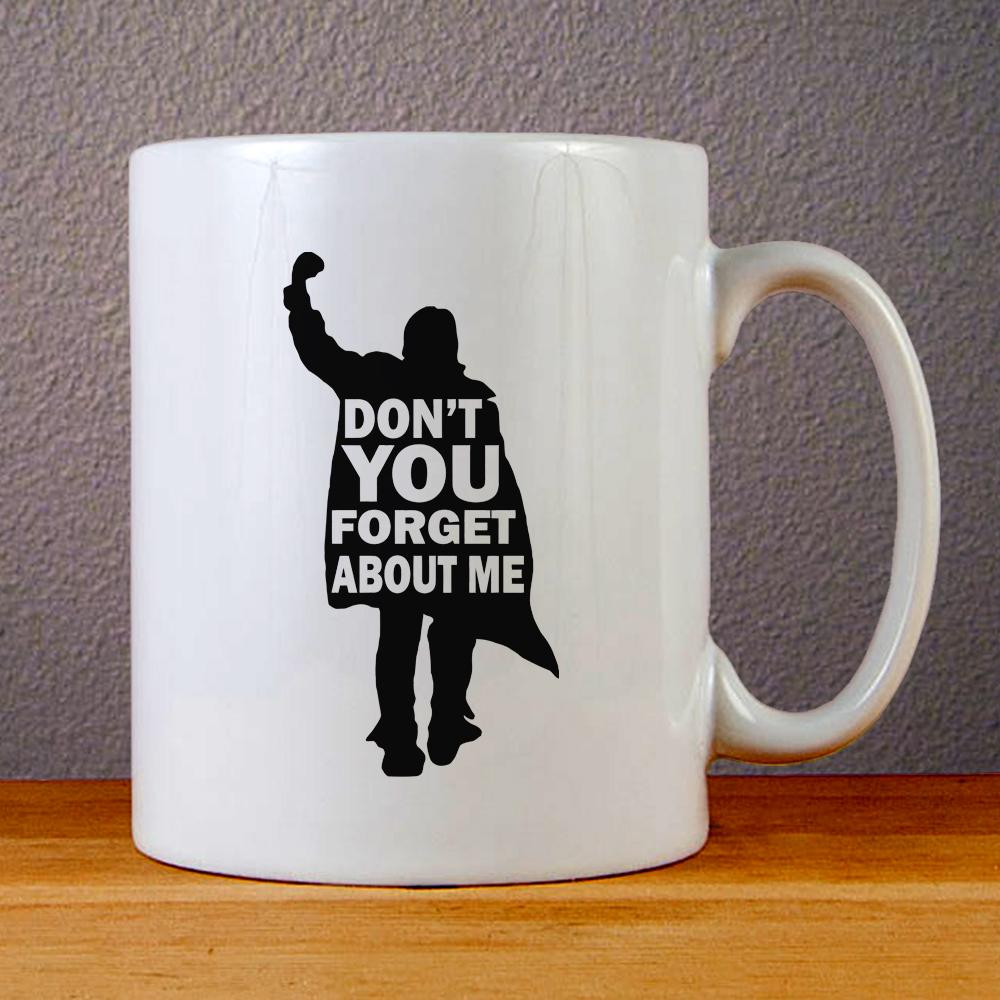 Simple Minds Dont You Forget About Me Ceramic Coffee Mugs