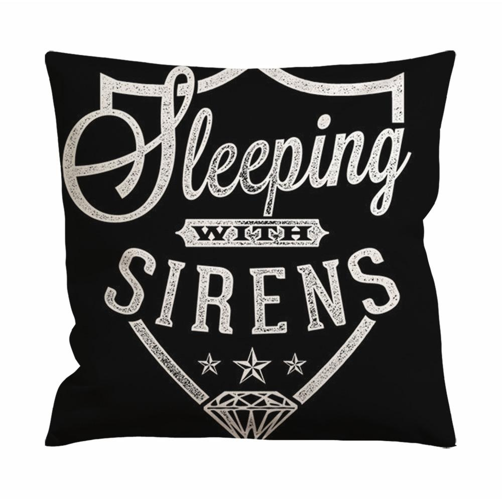 Sleeping With Sirens Logo Cushion Case / Pillow Case