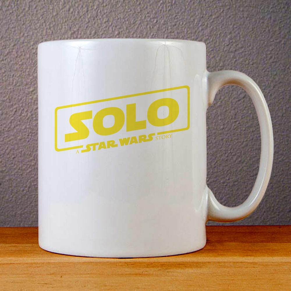 Solo A Star Wars Story Logo Ceramic Coffee Mugs