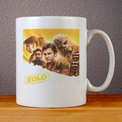 Solo A Star Wars Story Poster Ceramic Coffee Mugs