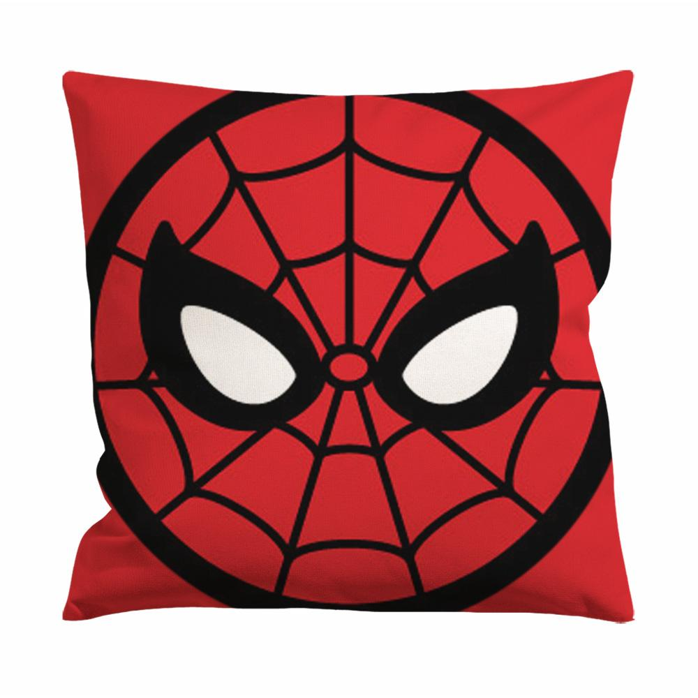 Spiderman Face Cushion Case / Pillow Case