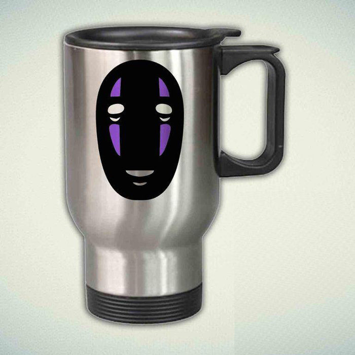 Spirited Away, No Face 14oz Stainless Steel Travel Mug