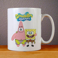 Spongebob Squarepants and Patrick Ceramic Coffee Mugs