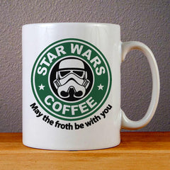 Star Wars Coffee Logo Ceramic Coffee Mugs
