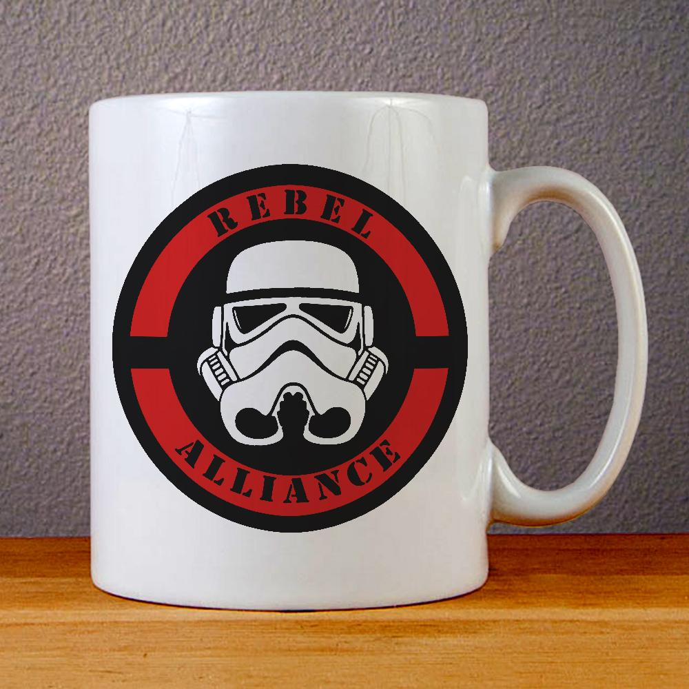 Star Wars Rebel Alliance Logo Ceramic Coffee Mugs