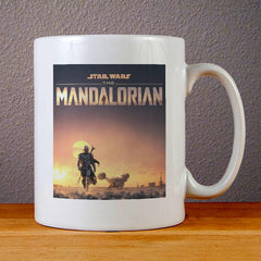 Star Wars The Mandalorian Poster Ceramic Coffee Mugs