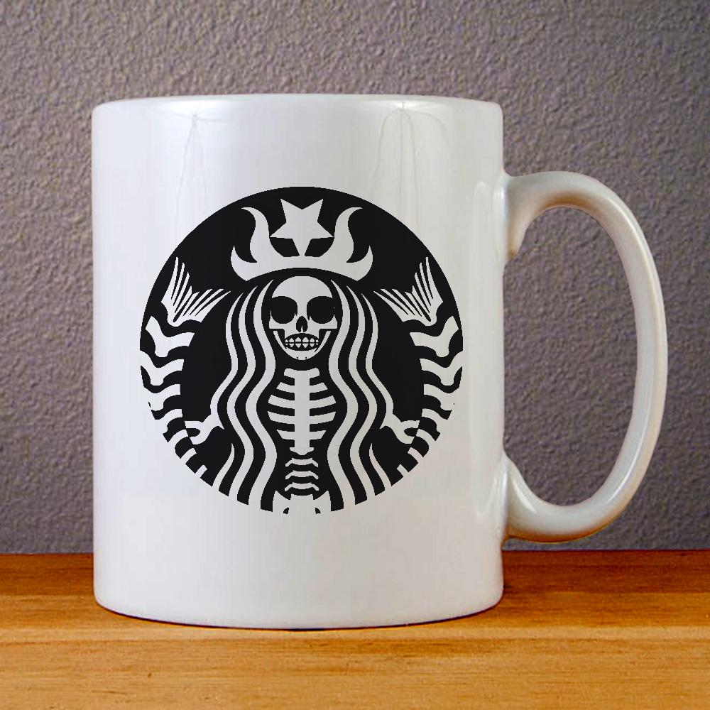 Starbucks Skull Ceramic Coffee Mugs
