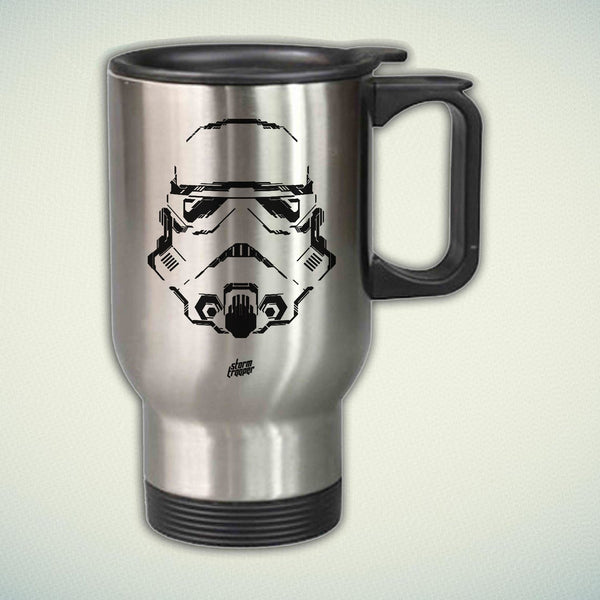 Storm Trooper New Design 14oz Stainless Steel Travel Mug
