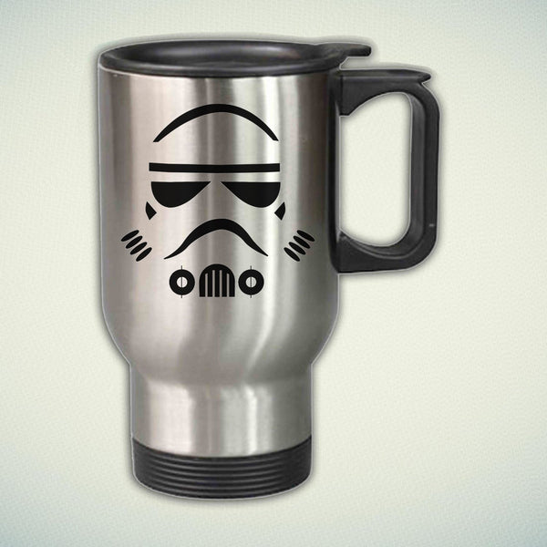 Storm Trooper 14oz Stainless Steel Travel Mug