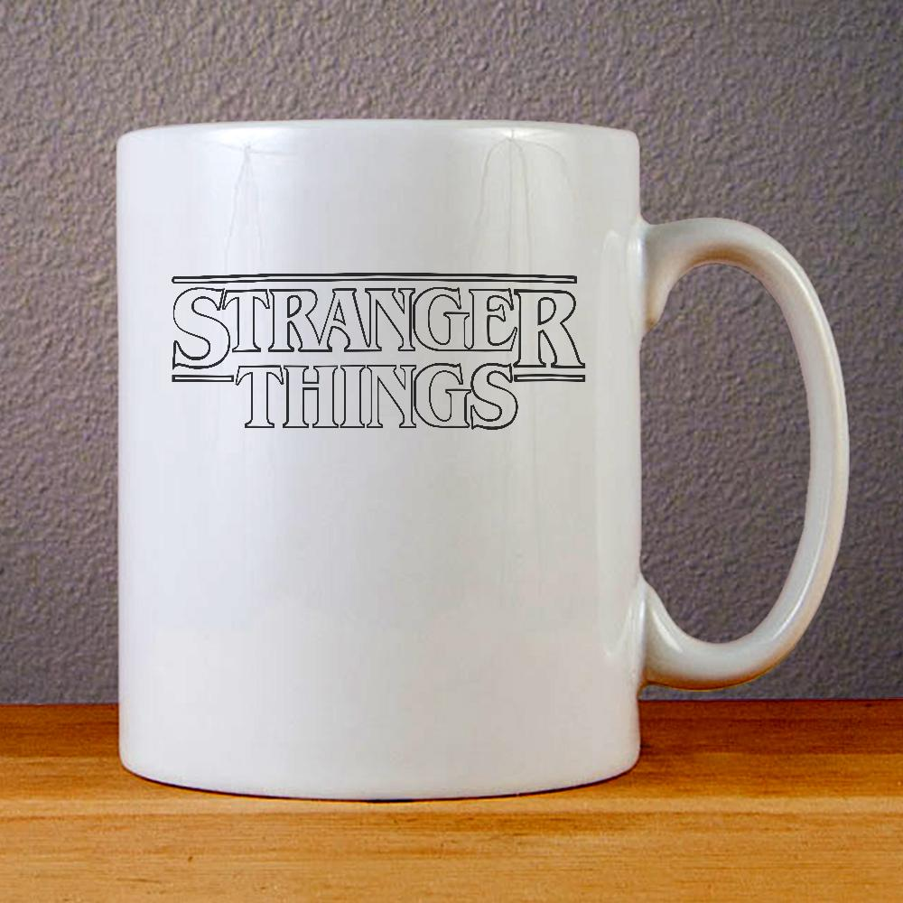 Stranger Things Logo Ceramic Coffee Mugs