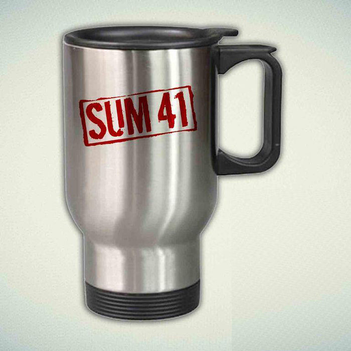 Sum 41 14oz Stainless Steel Travel Mug