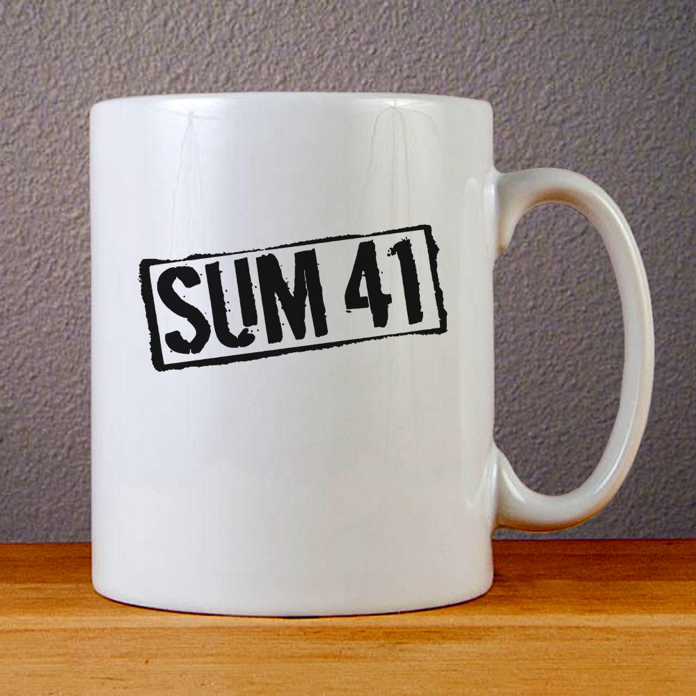 Sum 41 Band Logo Ceramic Coffee Mugs