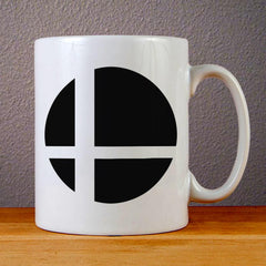 Super Smash Bros Logo Ceramic Coffee Mugs