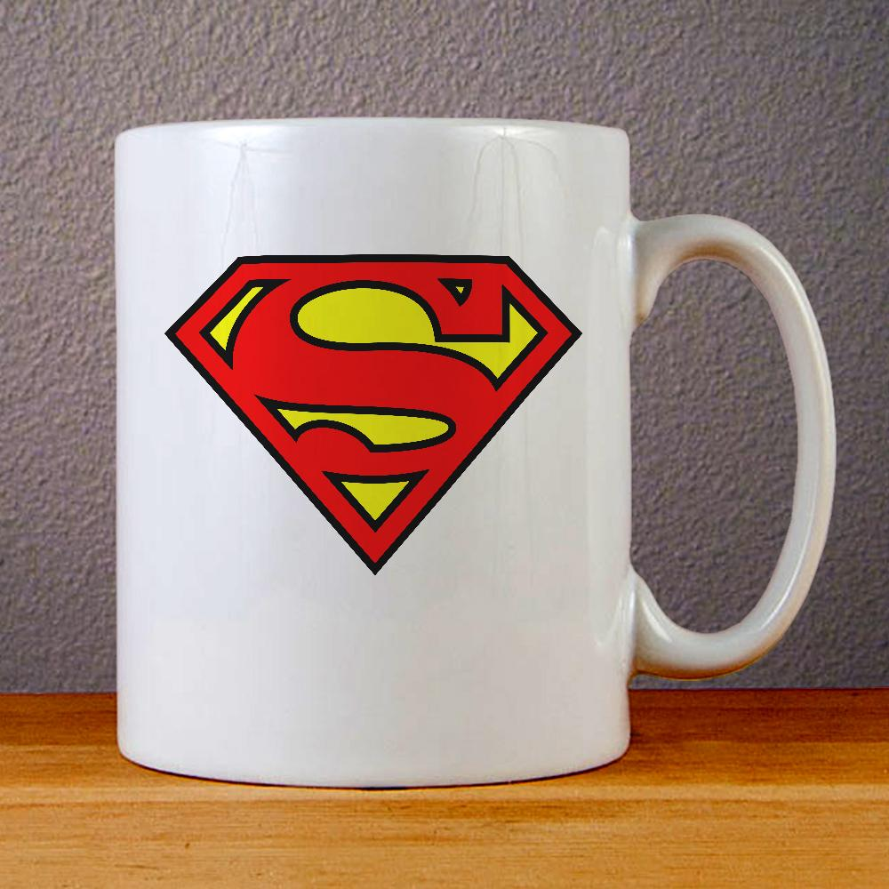 Superman Ceramic Coffee Mugs