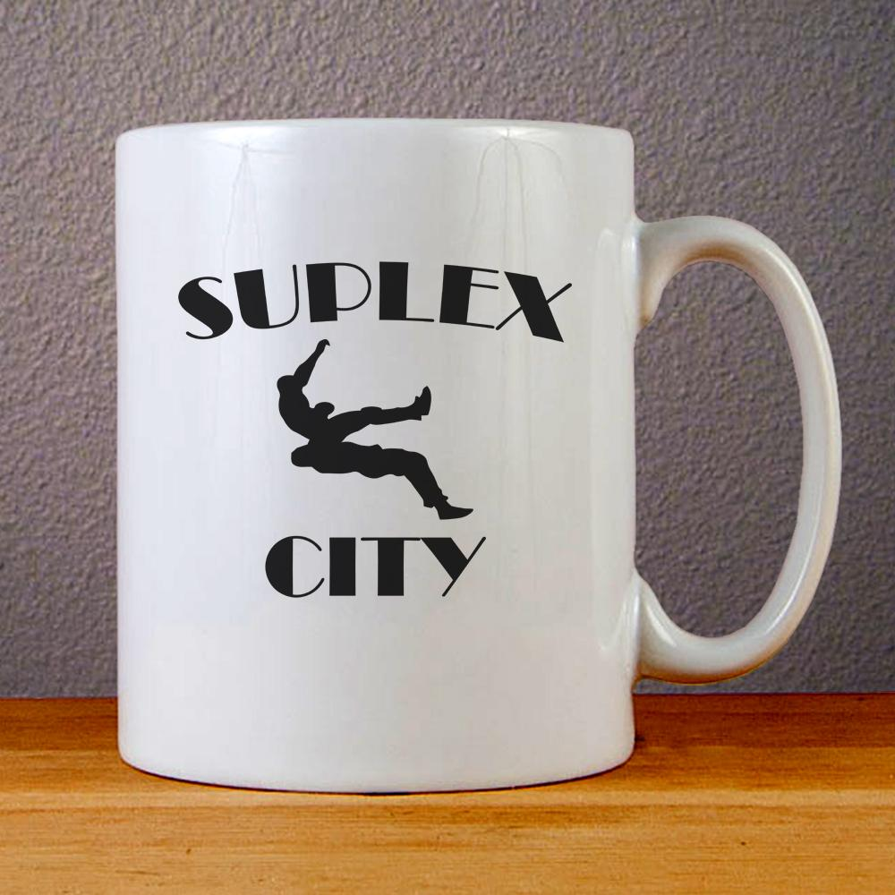 Suplex City Logo Ceramic Coffee Mugs