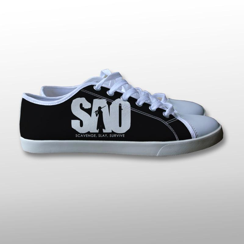 Sword Art Online SAO Logo Canvas Shoes